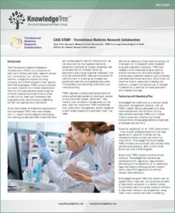 thumbnail of knowledgetree-case-study-translational-medicine-research-collaboration